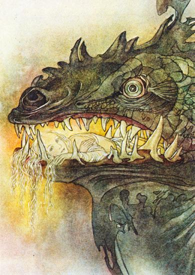 The Big Friend, Sulamith Wulfing (8.5X12)