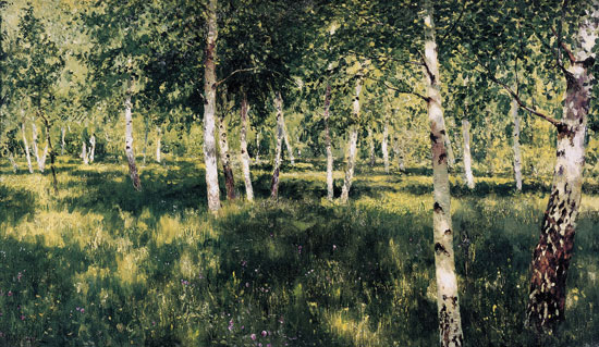 Birch Forest, Isaac Levitan