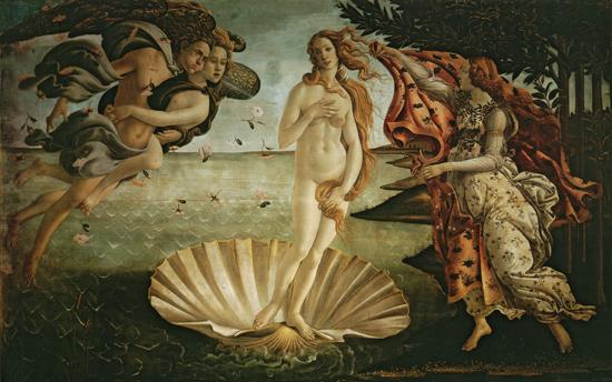 Birth of Venus, Botticelli (20X32)