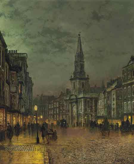 Blackman Street Borough, London John Atkinson Grimshaw    , Grimshaw