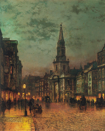 Blackman Street, London, John Atkinson Grimshaw