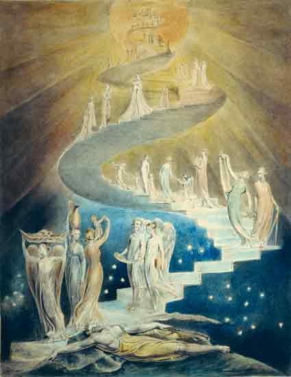 Jacob's Ladder, William Blake