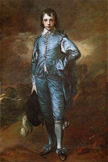 Blue Boy, Thomas Gainsborough (16X24)