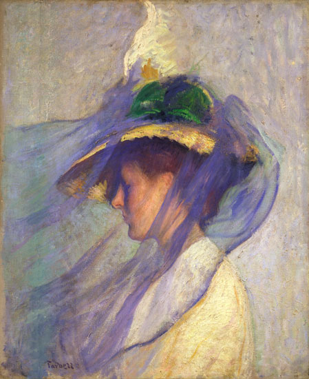 The Blue Veil, Edmund Tarbell