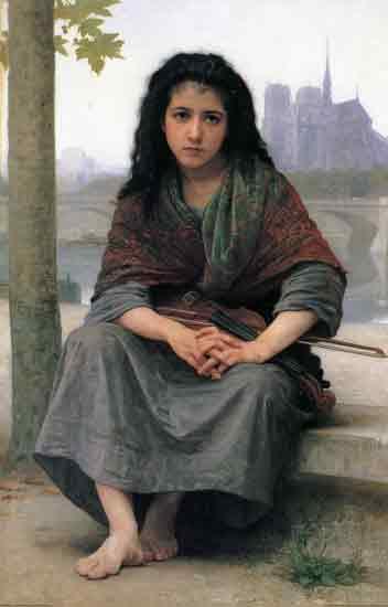 Bohemian, Bouguereau (16X24)