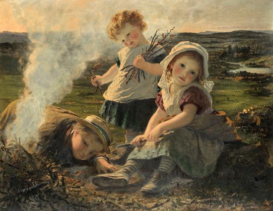 Bonfire, Sophie Anderson