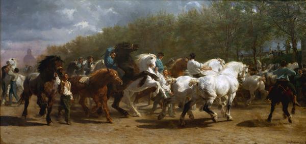 The Horse Fair, Bonheur (19X40)