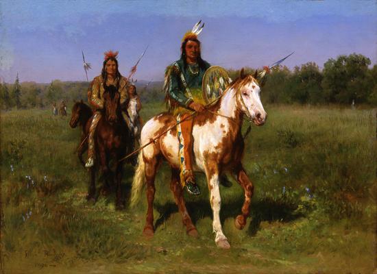 Indians, Bonheur (16X22)