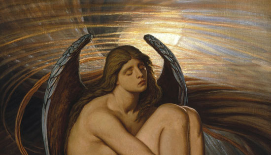 Bound Angel (detail), Vedder