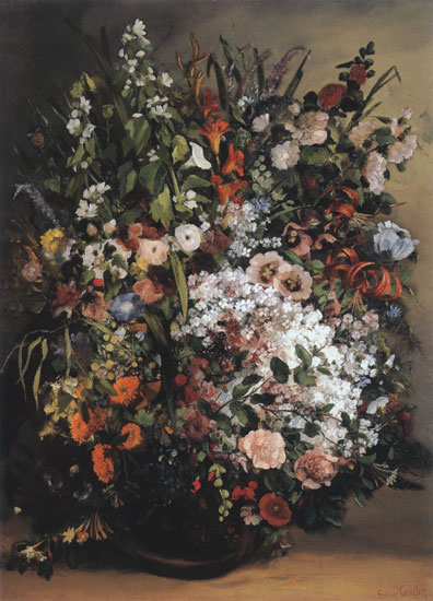 Spring Bouquet, Gustave Corbet (18X25)
