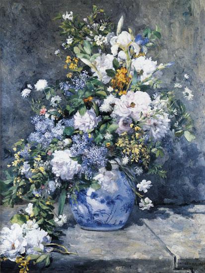 Spring Bouquet, Pierre Aguste Renoir (18X24)