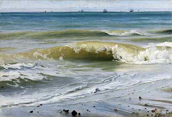 Breaking Waves w. Distant Ships, Schirmer