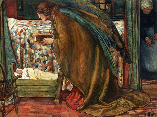 Gift that is Better than Rubies, Eleanor Fortescue-Brickdale (22X29)