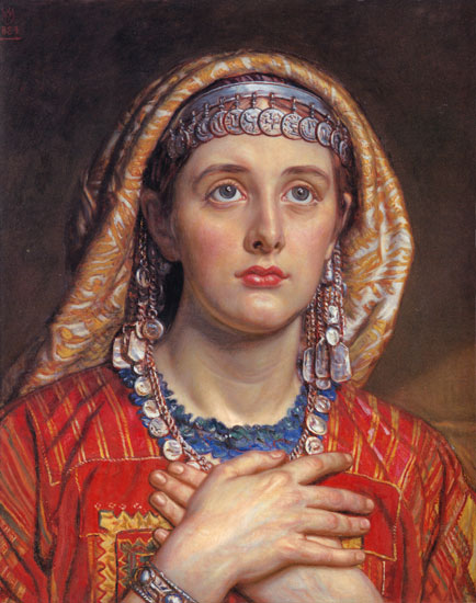 The Bride ofBethlehem, William Holman Hunt (17.5X22)