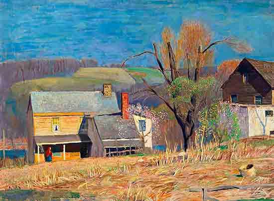 November Landscape, Daniel Garber