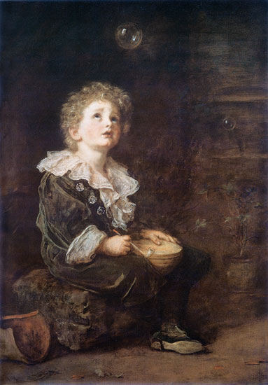 Bubbles, Sir John Everett Millais, canvas
