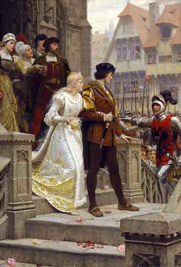 A Call to Arms, Edmund Blair Leighton