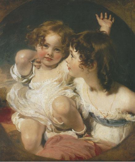 The Calmady Children, detail (20X24)