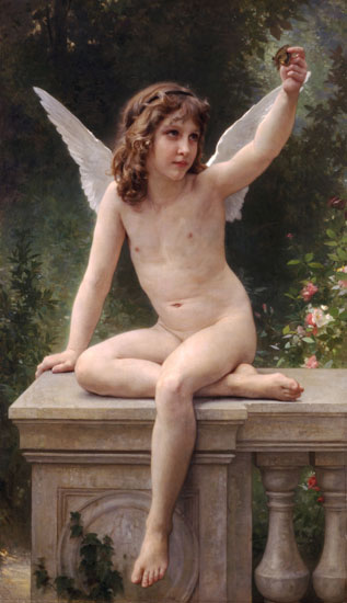 The Captive, Bouguereau (16X27.75)