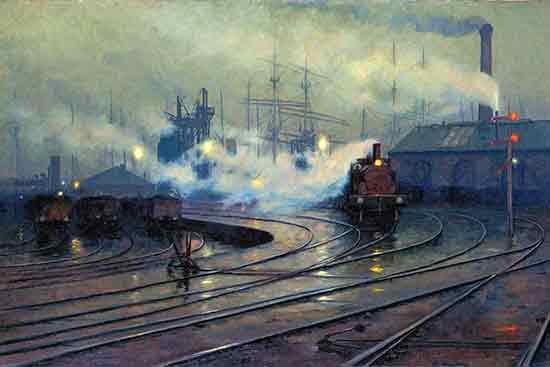 Cardiff Docks, Lionel Walden