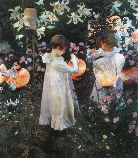 Carnation, Lily,Lily, Rose, Sargent (21X24)