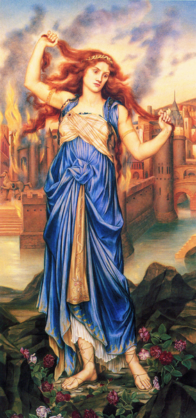 Cassandra, DeMorgan (16X34)