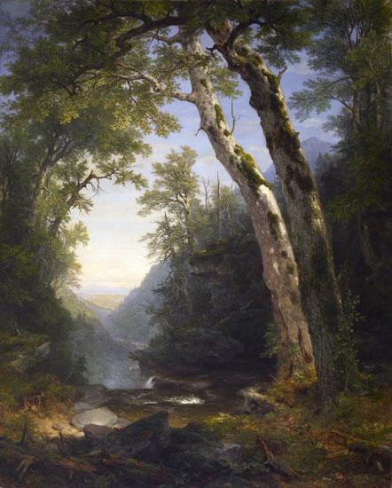 Catskills, Asher Brown Durand (18X22)