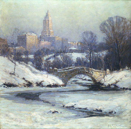 Central Park, Colin Campbell Cooper (30X30.25)