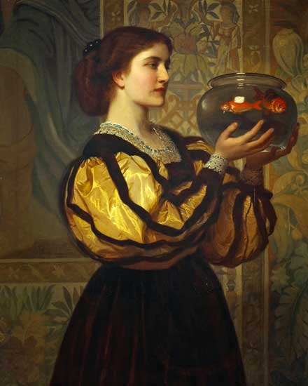 The Goldfish Bowl,Perugini (16x20)