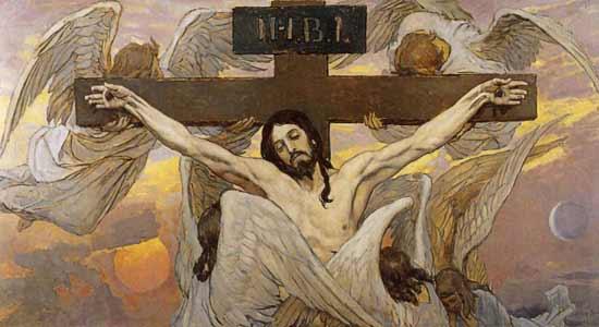 Christ Crucified, Victor Mikhailovich Vasnetsov