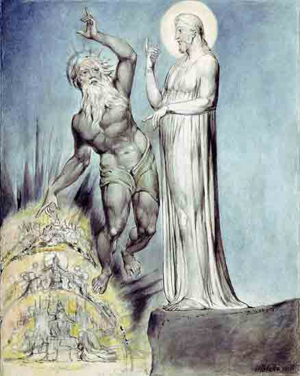 Christ in the Wilderness, William Blake