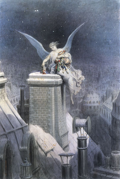 Christmas Eve, Dor� (16X23.75)