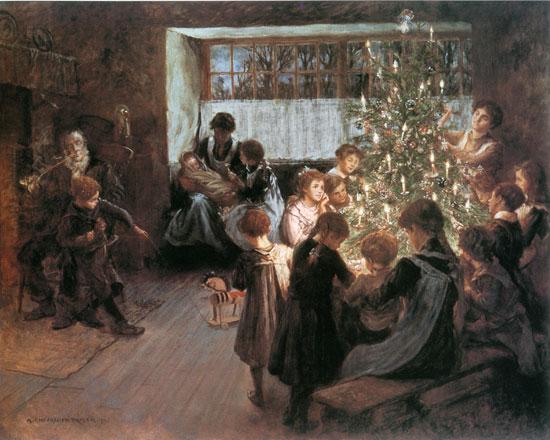 The Christmas Tree,Taylor (16X20)