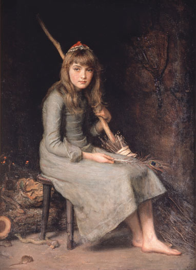 Cinderella, Sir John Everett Millais