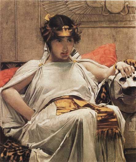 Cleopatra, Waterhouse (16X19)
