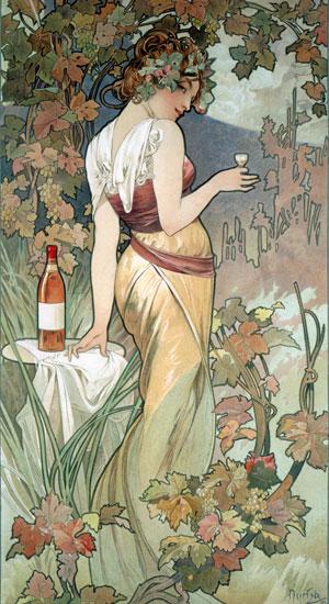 Cognac, Alphonse Mucha