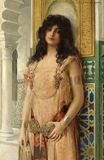 An Eastern Beauty, Leon Comerre