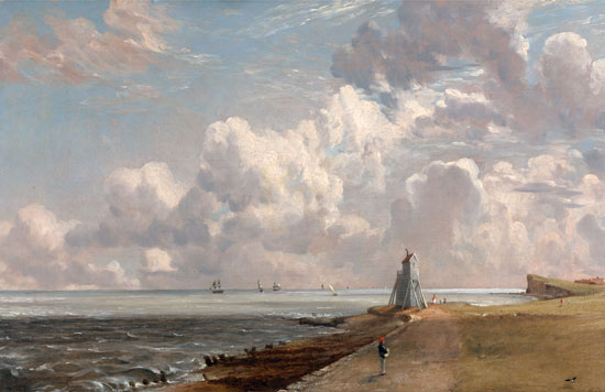 Harwich- The Low Lighthouse, Constable