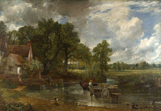 The Hay Wain, Constable (22.5X34)