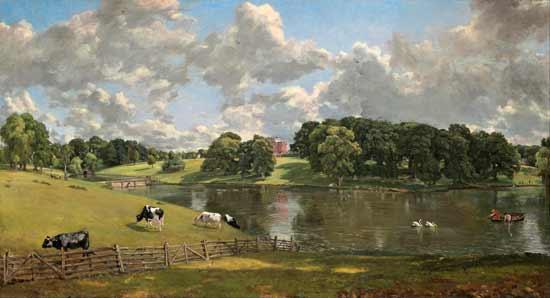 Wiven Park, Essex, Constable (22X40)