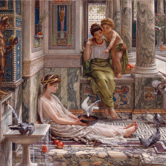 Corner of the Villa , Sir Edward John Poynter