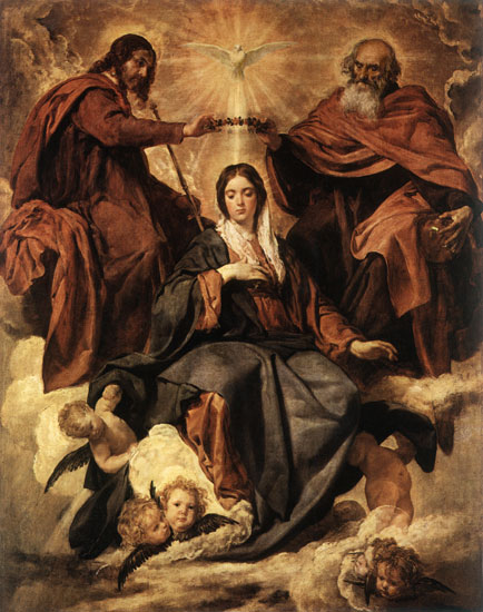 Coronation of the Virgin Diego Velázquez