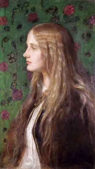 Countess of Lytton, Watts (17X30.25)