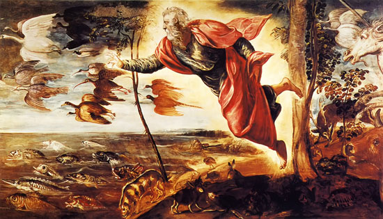 Creation of the Animals, Tintoretto