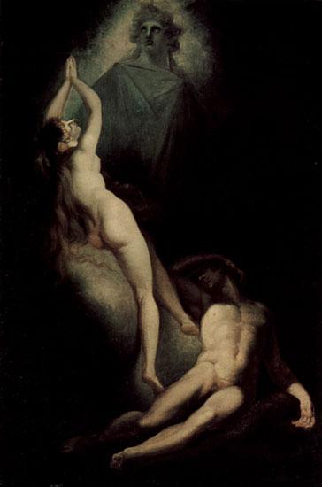 Creation of Eve, Henri Fuseli