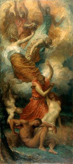 The Creation of Eve, George Frederic Watts, (16x36)