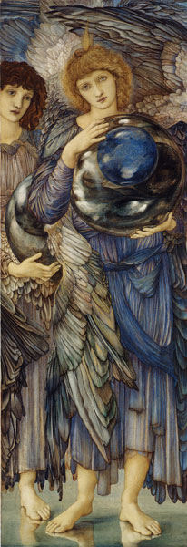 Creation The Second Day, Edward Burne-Jones (11.75X42_