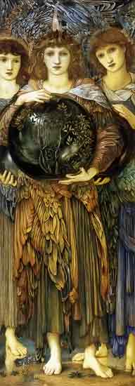 Creation, The First Day, Edward Burne-Jones