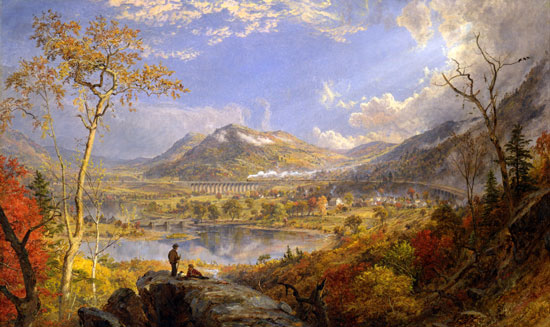 Indian Summer, Cropsey (22X37)