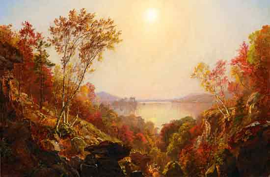 Greenwood Lake, Cropsey (22X33.5)